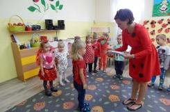 2018-09-14 - Biedronki - Pasowanie na Starszego Przedszkolaka