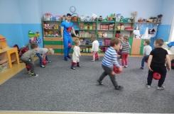 2019-01-29 - Rybki - Pierwsze zajęcia z piłką - przedszkoliada