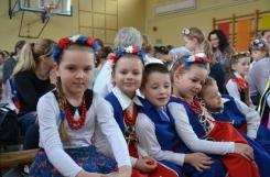 2019-04-05 - Wszystkie grupy - II miejsce w Powiatowym Konkursie Piosenki Ludowej