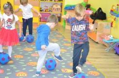 2019-10-08 - Biedronki - Zajęcia ruchowe z piłką - przedszkoliada