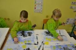 2019-11-25 - Pszczółki - Malarstwo - malujemy szpachelką