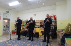 2020-01-10 - Wszystkie grupy - Saksofonowy karnawał - koncert w przedszkolu