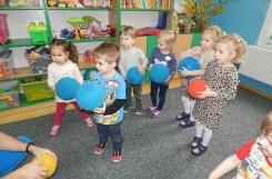 2020-03-03 - Rybki - Zajęcia ruchowe z piłką - Przedszkoliada